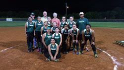 lady bulldogs softball team
